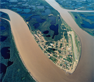 Aklavik Overhead Image